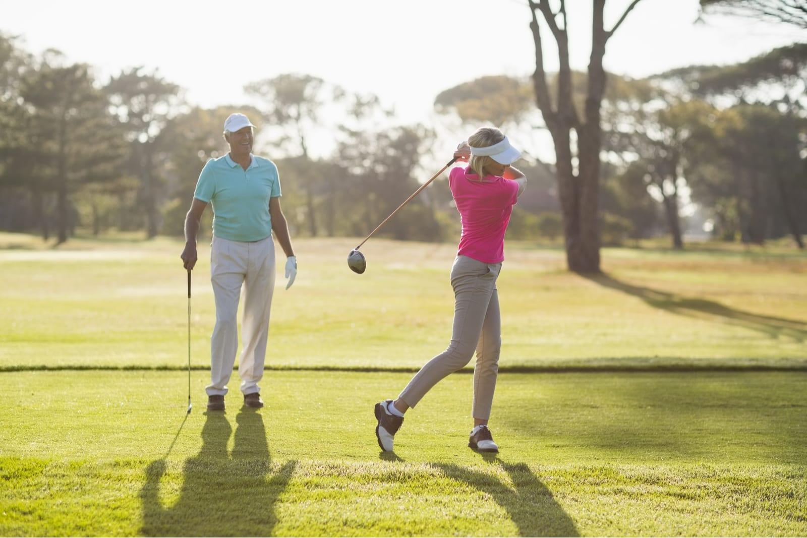 Pro golfer allyson geer